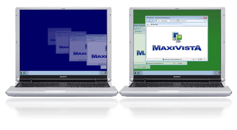 Просто расширить программу скачать MaxiVista - Multi Monitor Software 4.